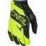 ONeal Matrix Gloves BURNOUT black/neon yellow